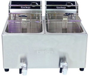 Birko double Pan 2 x 8 Ltr Electric Fryer