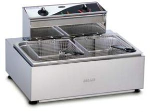 Roband Single Pan 11 Ltr Double Basket Electric Fryer