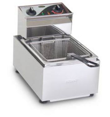 Roband Single Pan 8 Ltr Electric Fryer Practical