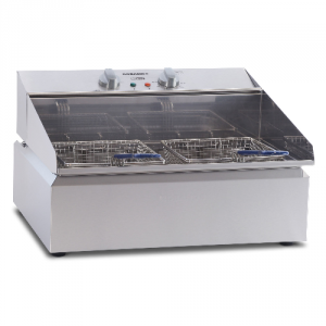 Roband Frypod 11 Ltr Single Pan Double Basket Countertop Fryer