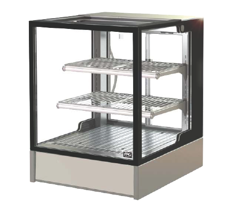 FPG INLINE 3000 SERIES 600MM WIDE HEATED COUNTERTOP SQUARE DISPLAY