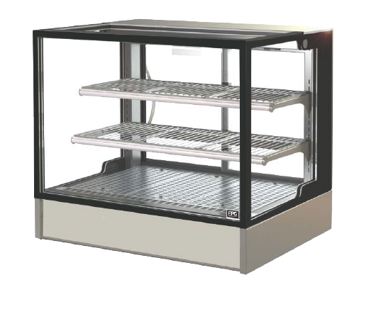 FPG INLINE 3000 SERIES 900MM WIDE HEATED COUNTERTOP SQUARE DISPLAY