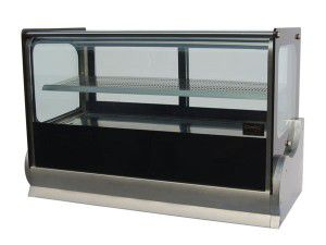 Anvil 1200mm Wide Counter Top Hot Display Square Glass