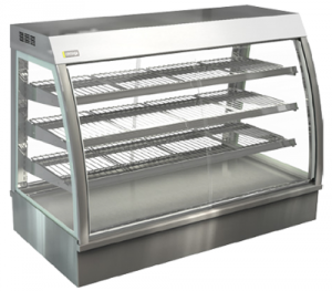 Cossiga 1200mm Wide Self Serve Counter Top Heated Display