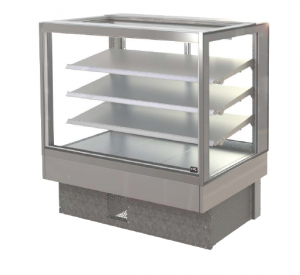 FPG INLINE 4000 SERIES 1200MM WIDE SQUARE COUNTERTOP REFRIGERATED DISPLAY