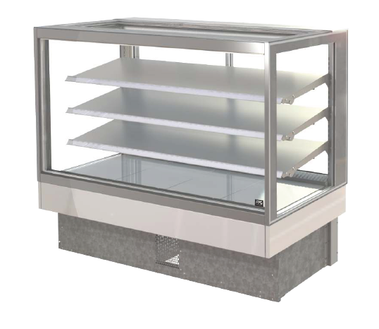 FPG INLINE 4000 SERIES 1500MM WIDE SQUARE COUNTERTOP REFRIGERATED DISPLAY