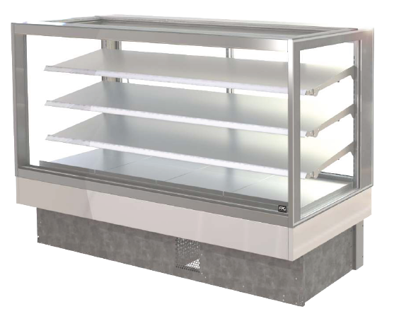 FPG INLINE 4000 SERIES 1800MM WIDE SQUARE COUNTERTOP REFRIGERATED DISPLAY