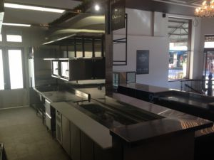 Custom Made Kitchen <br />Coffee Club Fremantle