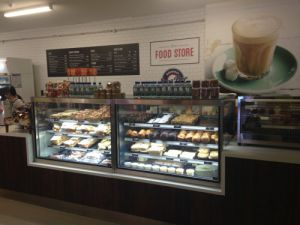 Practical Products custom Made Shop front Display<br />Local Food Store T1 Perth Airport