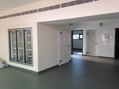 Custom Made Cool Room & Freezer Room <br />Aquinas College