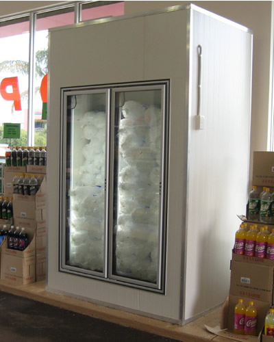 Custom Made Ice Storage Unit