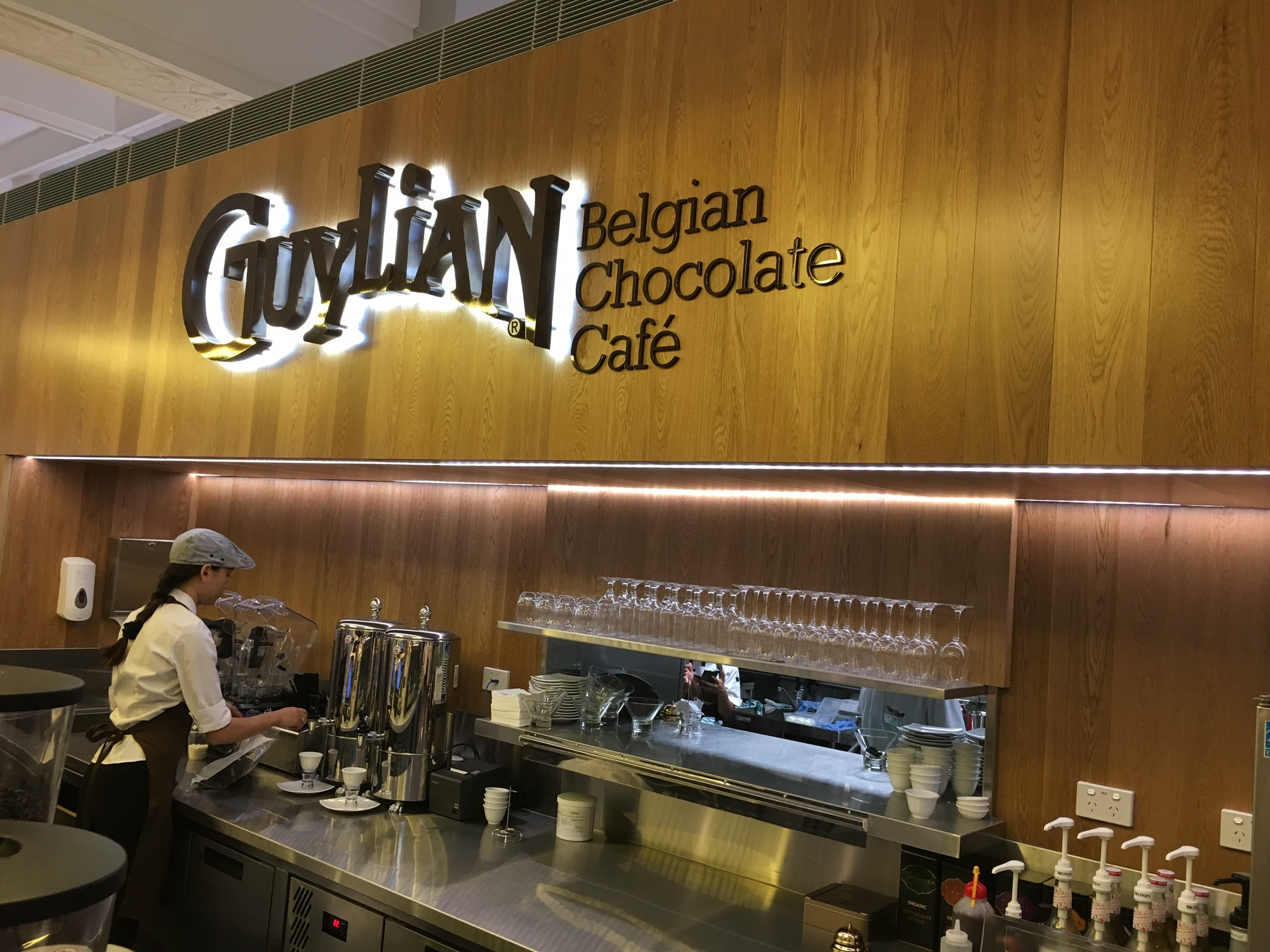 Guylian Belgian Chocolate Cafe Perth