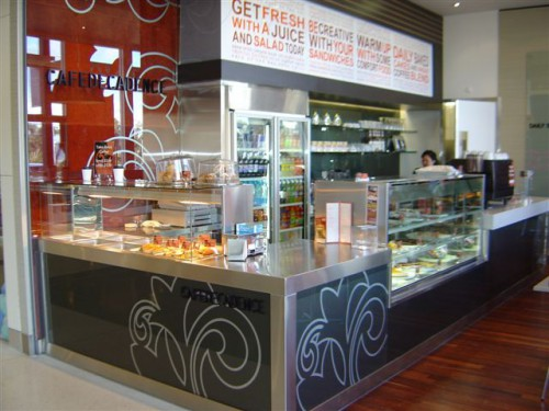 Practical Products custom Made Shop front Display<br />Cafe Decadence