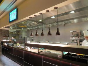 Practical Products custom Made Shop front Display<br />Junction Grill