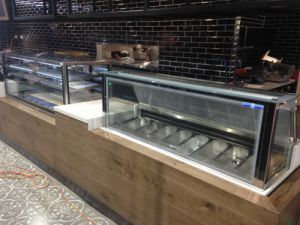 Practical Products custom Made Shop front Display<br />Napoli & Mercanto