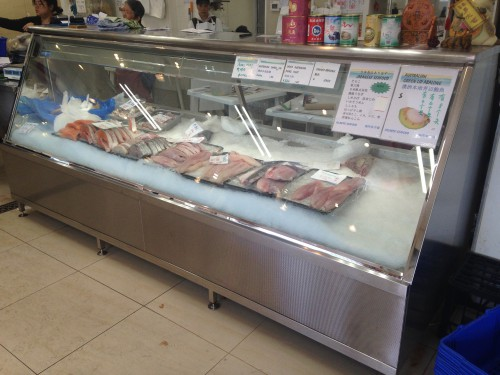 Practical Products custom Made Shop front Display<br />Atlantic Seafoods