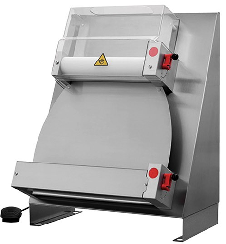 FED 400mm Double pass through Pizza Dough Roller Parallel