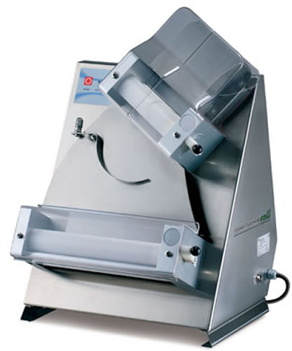 Mecnosud 300mm Double pass through Pizza Dough Roller