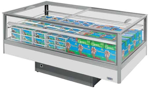 Capture 268 Litre Dual Temp Island Display Freezer/Fridge