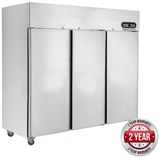 Tecnotherm triple solid door vertical Freezer