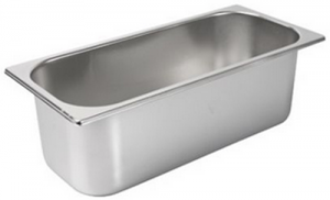 5 Litre Stainless Steel Ice Cream Tubs for Gelato Freezers