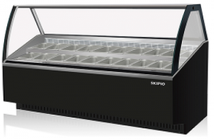 Skipio 18 pan Gelato display Black