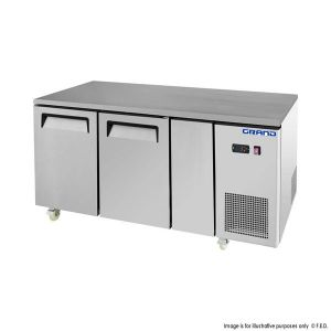 Grand True Quality Double Door Work Bench Freezer