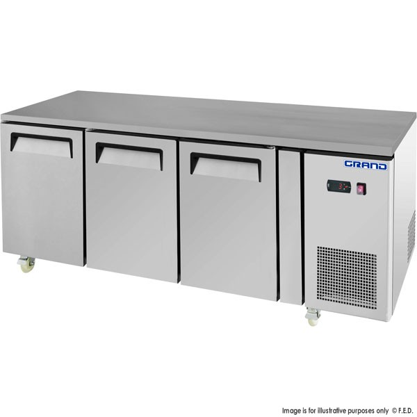 Grand True Quality Triple Door Work Bench Freezer