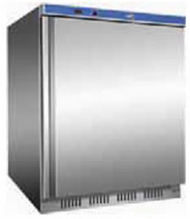 Thermaster single Solid Door under counter Freezer 140Lt