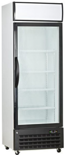 Saltas Single Glass Door Upright Display Freezer