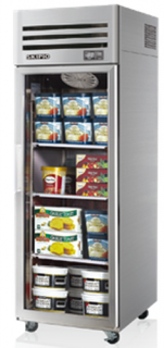Skipio single glass door upright display Freezer