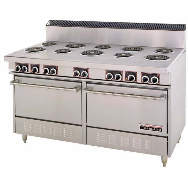 Garland 1524mm 10 x Elements & Double Electric Oven Range