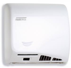 Mediclinics Speed Flow M17ACS Hand Dryer - White