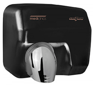 Mediclinics Saniflow Hand Dryer E05AB- Black