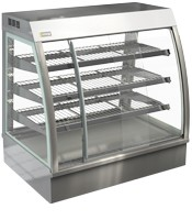 Cossiga 900mm Wide Self Serve Counter Top Heated Display