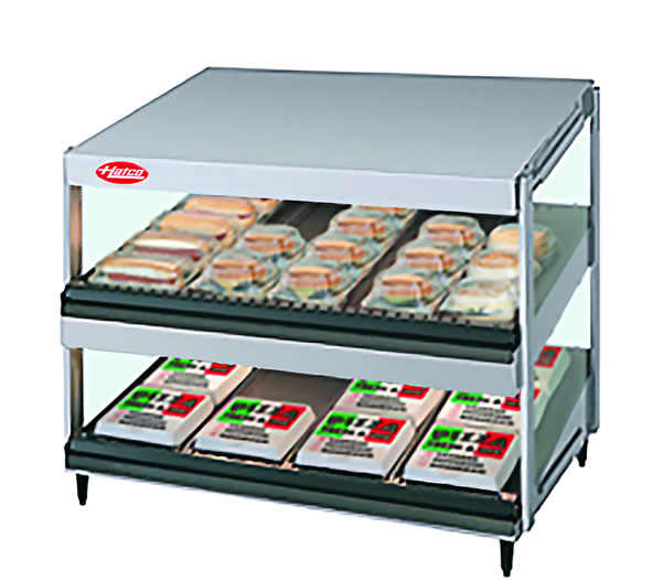 Hatco Glo-Ray GRSDS-24D Heated Display Warmer