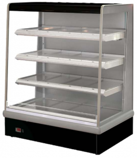 FPG VISAIR 1267mm Wide Open Face Heated Heavy Duty Display 3 shelves