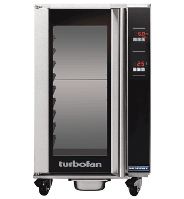 Turbofan electric 10 x 1/1 GN Digital Holding Cabinet