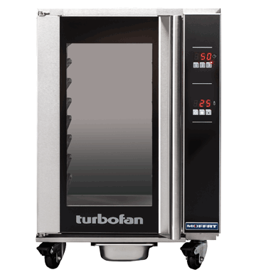 Turbofan electric 8 x 1/1 GN Digital Undercounter Holding Cabinet