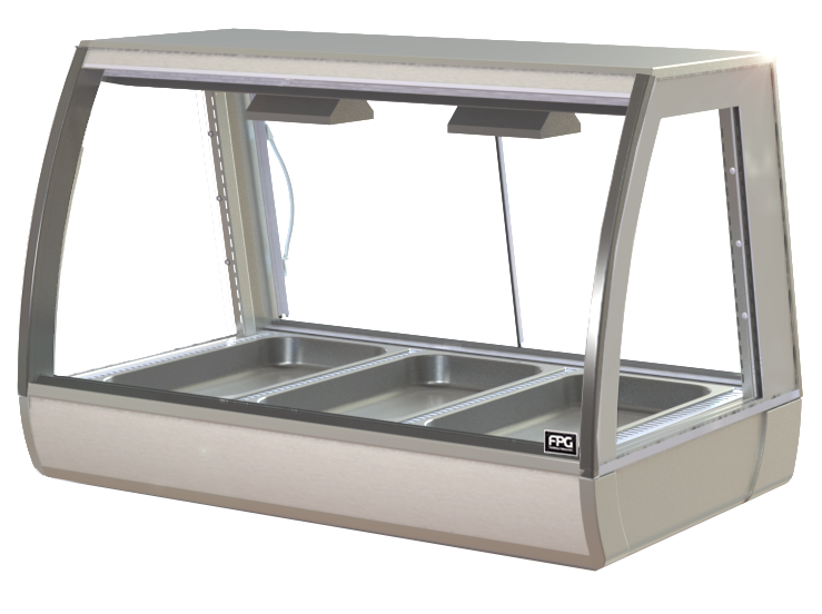 FPG INLINE 3000 SERIES 1200MM WIDE COUNTERTOP BAIN MARIE