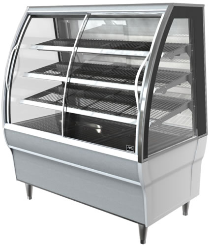 FPG Self Serve Heated Floor Standing Display 803mm Wide