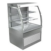 Cossiga Self Serve 900mm Curved Open Face Refrigerated Display