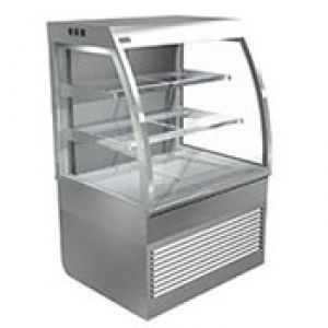 Cossiga Self Serve 1200mm Curved Open Face Refrigerated Display