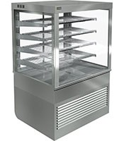 Cossiga Self Serve 900mm Heated Square Display