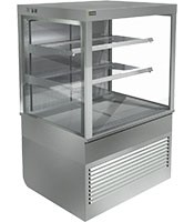 Cossiga Self Serve 900mm Square Open Face Refrigerated Display