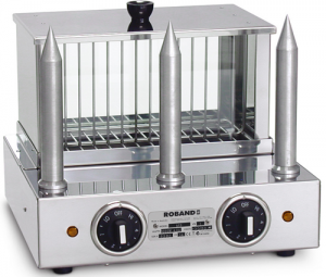 Roband M3 Hot Dog Maker with water tank & 3 spikes