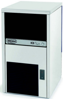 Brema Undercounter Ice Cube Machine 23g Cube 29kg Production With Drain Pump