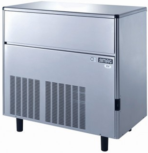 Bromic 165kg under counter Ice Maker HOLLOW cube