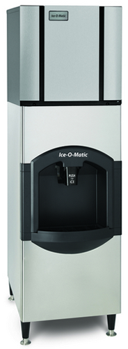 Ice-O-Matic Ice Dispenser With CIM0325 Ice Maker 55kg Storage