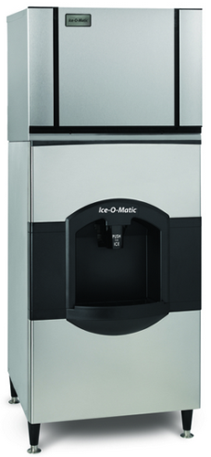 Ice-O-Matic Ice Dispenser With CIM0435 Ice Maker 81kg Storage